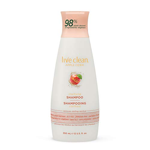 Live Clean - Live Clean Apple Cider Detox Shampoo, 12 oz.