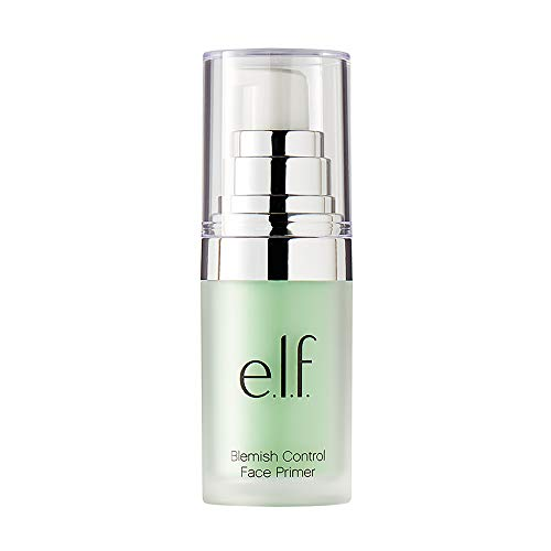 E.l.f Cosmetics - e.l.f., Blemish Control Face Primer - Small, Long Lasting, Skin Perfecting, Controls Breakouts and Blemishes, Matte Finish, Infused with Salicylic Acid, Vitamin E & Tea Tree, 0.47 Fl Oz
