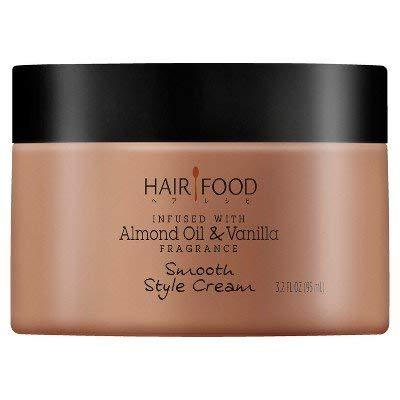 Hair Food - Hair Food Almond Oil & Vanilla Smooth Style Cream - 3.2 fl oz