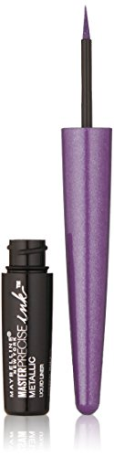 Maybelline New York - Maybelline Master Precise Ink Metallic Liquid Liner, 530 Cosmic Purple (Pack of 2)