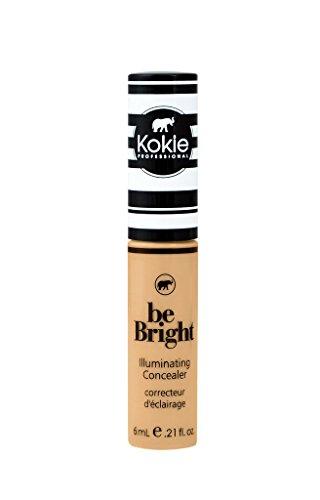 Kokie Cosmetics - Kokie Cosmetics Be Bright - Concealor and Color Correctors, Medium Beige, 0.21 Fluid Ounce