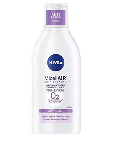 Nivea - MicellAIR Skin Breathe Water O2 Face Cleansing - Sensitive Skin