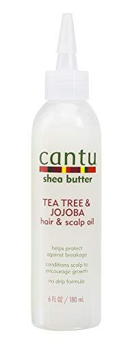 Cantu - Cantu Shea Butter Tea Tree & Jojoba Hair & Scalp Oil, 6 Fluid Ounce