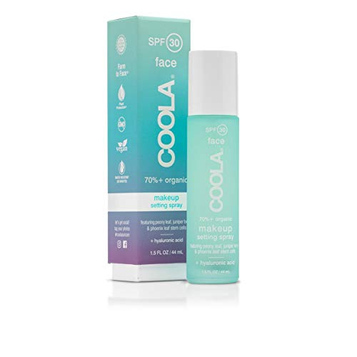 Coola Suncare - Green Tea and Aloe Makeup Setting Spray SPF 30