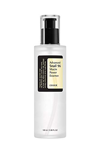 Cosrx - COSRX Advanced Snail 96 Mucin Power Essence 3.38 fl.oz / 100ml | Snail Secretion Filtrate 96% | Skin Repair Serum | Korean Skin Care, Cruelty Free, Paraben Free, Alcohol Free