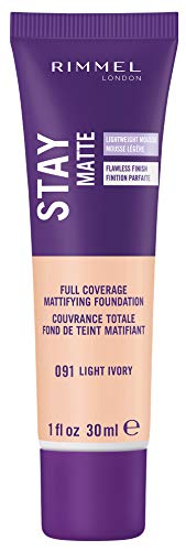 Rimmel - Stay Matte Liquid Mousse Foundation