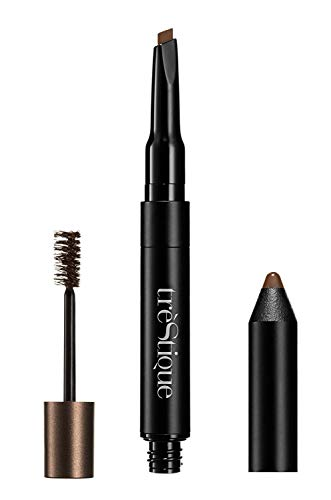 Trèstique - trèStiQue Define, Sculpt & Brow Pencil | 3-in-1 Brow Pencil and Tinted Gel - Vegan, Cruelty Free | Latte 0.007/0.084 oz.