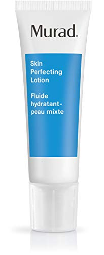 Murad - Murad Acne Control Skin Perfecting Lotion - Step 3 (1.7 fl oz), Oil-Free Daily Hydrating Face Moisturizer for Acne Prone Skin with Retinol and Allantonin to Reduce Oil, Tighten Pores, and Calm Skin