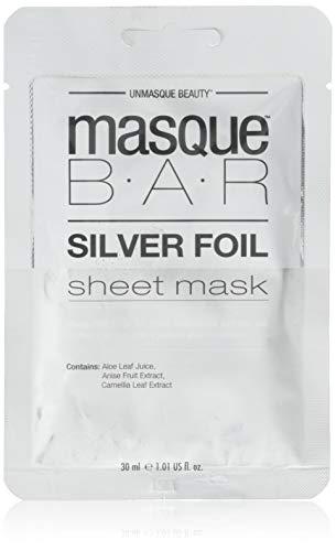 Masque Bar - Masque Bar Silver Foil Sheet Mask - 1.01 Fluid Ounce