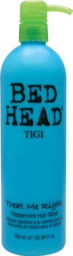 Tigi - Tigi Bed Head Treat Me Right Hair Mask for Unisex, Peppermint, 25.36 Ounce