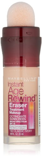 Maybelline - Maybelline New York Instant Age Rewind Eraser Treatment Makeup, Honey 320, 0.68 Fluid Ounce