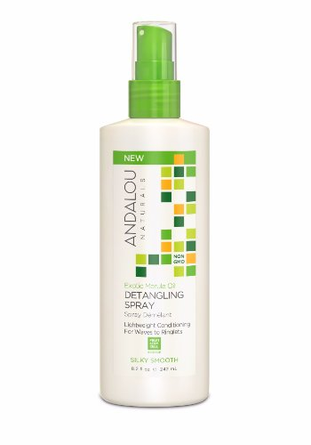 Andalou Naturals - Andalou Naturals Exotic Marula Oil Silky Smooth Detangling Spray, 242ml