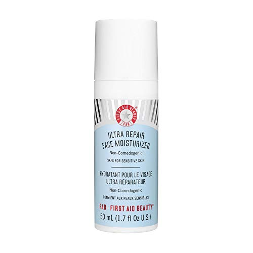 First Aid Beauty - First Aid Beauty Ultra Repair Face Moisturizer, Hydrating Face Lotion for All Skin Types, 1.7 Ounces