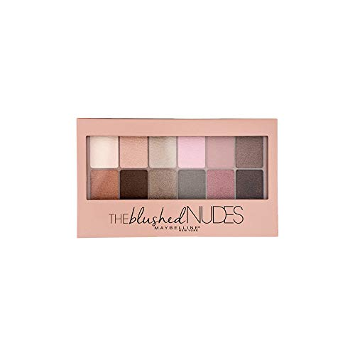 Maybelline - Maybelline New York Expert Wear Eyeshadow Palette, The Blushed Nudes 0.34 oz