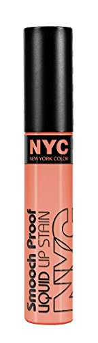 N.y.c. - Smooch Proof Liquid Lip Stain, Faithful Coral