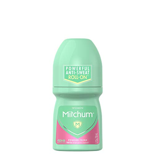Almay - Mitchum Women Roll-On Antiperspirant Deodorant, Powder Fresh, 1.7oz.