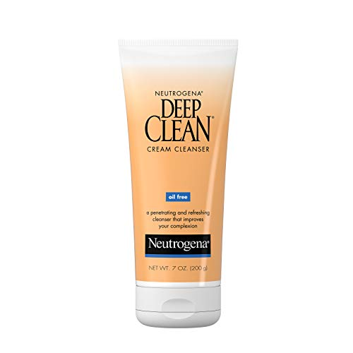 Neutrogena - Neutrogena Oil-Free Deep Clean Cream Cleanser, 7 Ounce (Pack of 3)