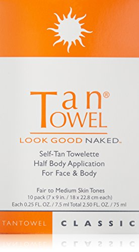Tan towel Self Tan Towelette Classic