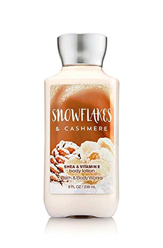 Bath & Body Works - Bath and Body Works Snowflakes and Cashmere Body Lotion 8 Ounce Holiday 2016