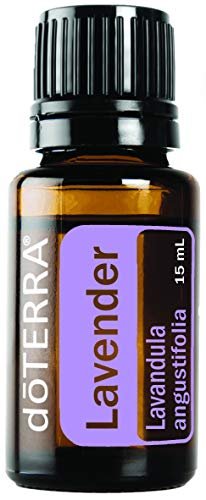 Doterra - doTERRA Lavender Essential Oil - Promotes Calm, Relaxation, Peaceful Sleep, Tension Relief, and Soothing of Skin Irritation; For Diffusion, Internal, or Topical Use - 15 ml