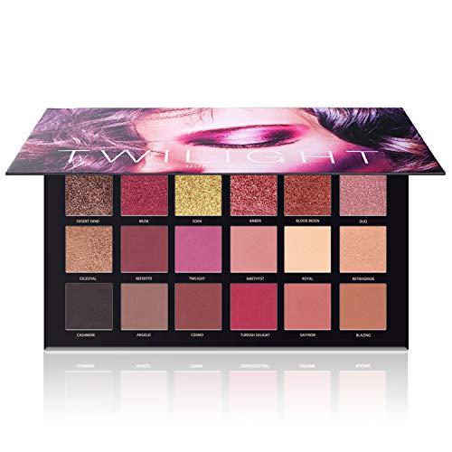 Ucanbe - UCANBE Eyeshadow Palette, High Pigmented Matte Shimmer Glitter Naked Eye Shadow Makeup Pallet