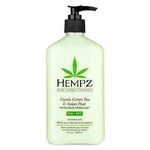 Hempz - Hempz Exotic Herbal Body Moisturizer, Green Tea and Asian Pear, 17 Fluid Ounce
