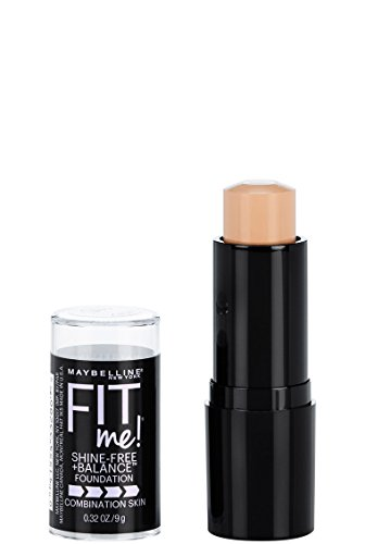 Maybelline - Maybelline Fit Me Shine-Free + Balance Stick Foundation, Classic Ivory, 0.32 oz.
