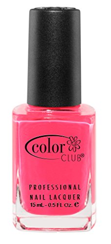 Color Club - Color Club Poptastic Neons Nail Polish, Hot Pink, Jackie Oh.05 Ounce
