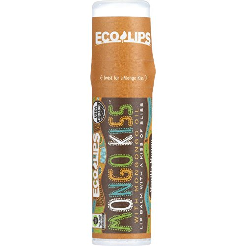 Eco Lips - Mongo Kiss Display Center Lip Balm Organic, Vanilla Honey