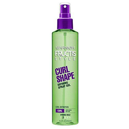 Garnier - Garnier Fructis Style Curl Shape Defining Spray Gel, Curly Hair, 8.5 fl. oz.
