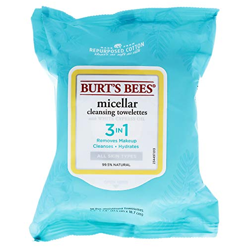 Burts Bees - Burt's Bees Micellar Cleansing Towelettessex 30 Piece Towelettes, 30 Count