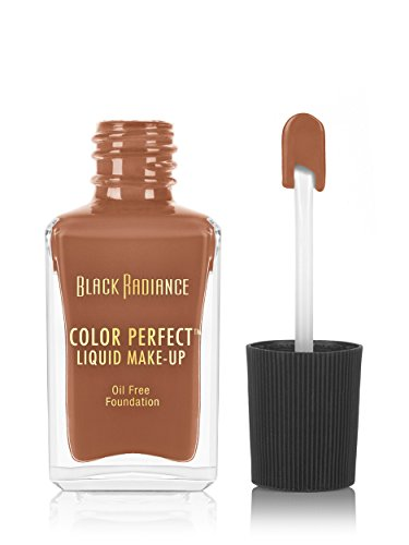 Black Radiance - Black Radiance Color Perfect Liquid Make-Up, Pecan, 1 Fluid Ounce