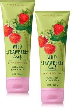 Bath & Body Works - Wild Strawberry Leaf Ultra Shea Body Cream