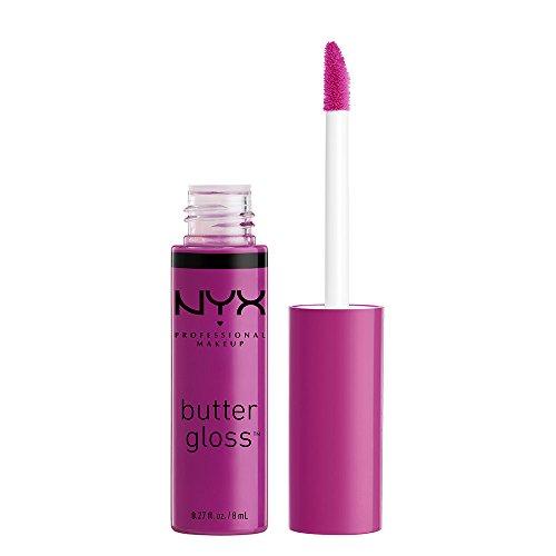 NYX - NYX Professional Makeup Butter Gloss, Raspberry Tart, 0.27 Fluid Ounce