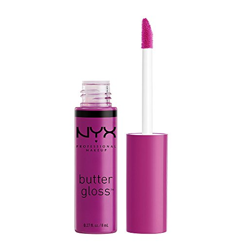 NYX - NYX Professional Makeup Butter Gloss, Raspberry Tart, 0.27 Fluid Ounce