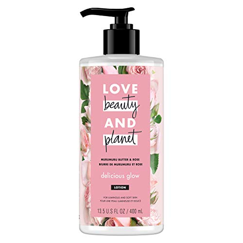 Love, Beauty & Planet - Murumuru Butter & Rose Body Lotion, Delicious Glow