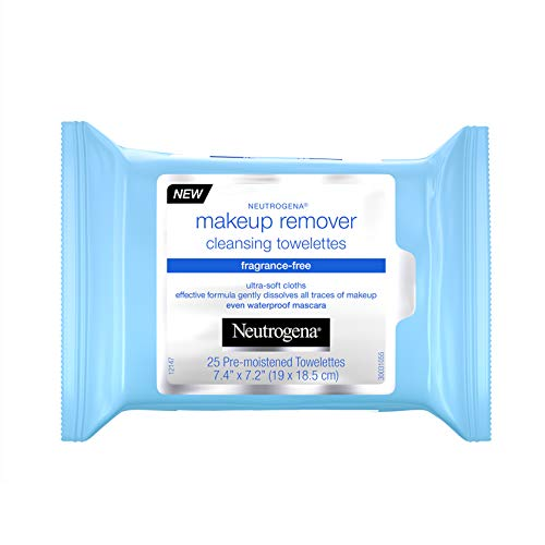 Neutrogena - Neutrogena Make-Up Remover Cleansing Towelette, Fragrance-Free 25 ea (Pack of 4)