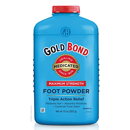 Gold Bond - Gold Bond Maximum Strength Foot Powder, 10 Ounce, Multi