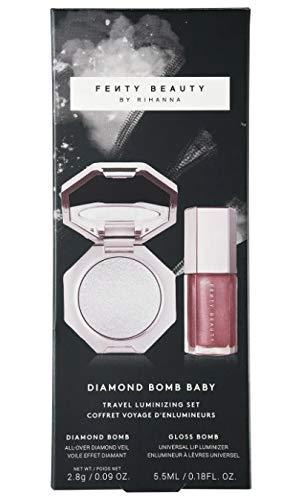 Fenty - FENTY BEAUTY by Rihanna Diamond Bomb Baby Mini Lip Gloss and Highlighter Set