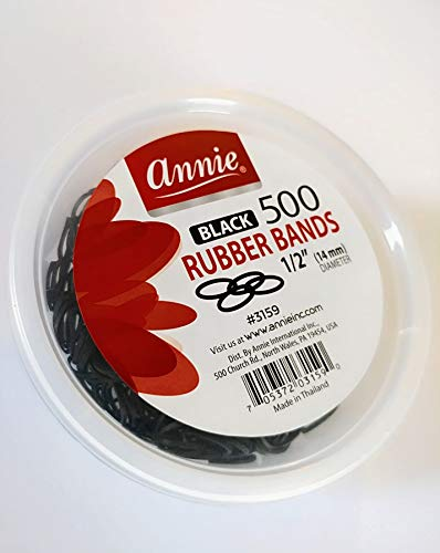 Annie Annie Rubber Bands,Pack of 500 EA