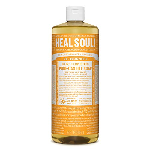 Dr. Bronner'S - Pure-Castille Liquid Soap, Citrus