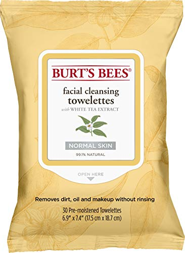 Burts Bees - Facial Cleansing Towelettes White Tea