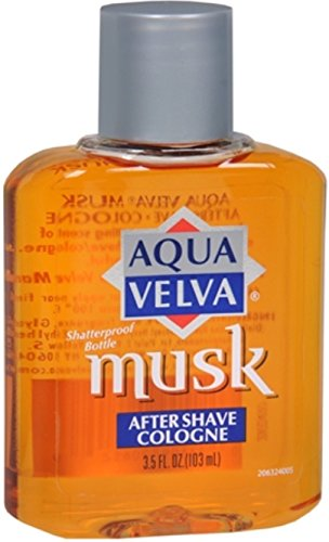 Aqua Velva Aqua Velva Musk After Shave Cologne 3.50 oz (Pack of 2)