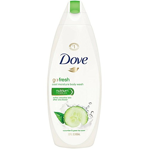 Dove - Dove Body Wash 22oz Go Fresh Cucumber & Green Tea (3 Pack)