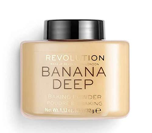 Makeup Revolution - Makeup Revolution Loose Baking Powder ~ Banana Deep