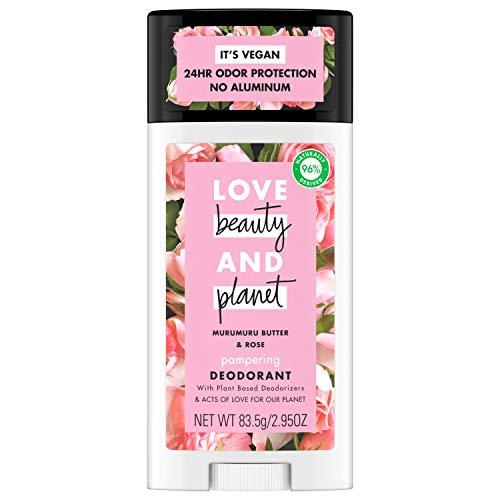 Love, Beauty & Planet - Deodorant, Murumuru Butter and Rose