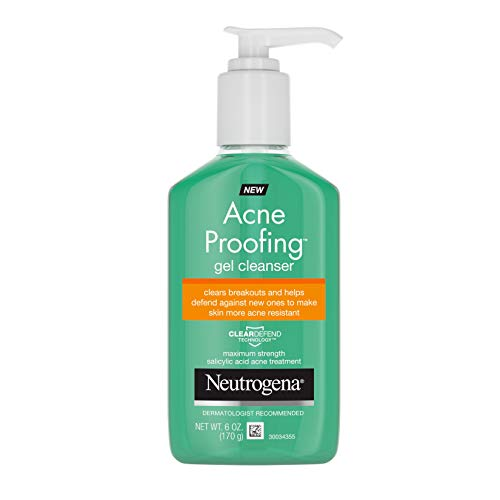Neutrogena Acne Proofing Daily Facial Gel Cleanser with Salicylic Acid