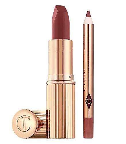 Charlotte Tilbury - Charlotte Tilbury Walk of No Shame Holiday Lip Kit Duo - Matte Revolution Lipstick and Lip Cheat Lip Liner