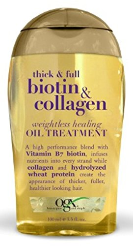Ogx - Ogx Biotin & Collagen Oil Treatment 3.3 Ounce Weightless (97ml) (6 Pack)