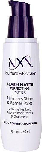 Nurture by Nature - NxN Flash Matte Pore Refining Primer Transforms Skin Into Perfect Canvas Natural Formula for Oily/Combination Skin, 1 Fl Oz